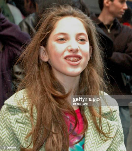 Jillian Mueller cast member of the Broadway musical How The Grinch Stole Christmas