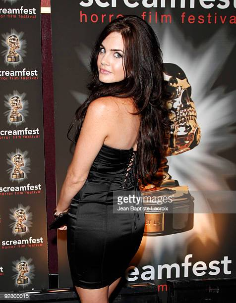 Jillian Murray attends the 'Forget Me Not' Premiere at Mann Chinese 6 on October 22 2009 in Los Angeles California