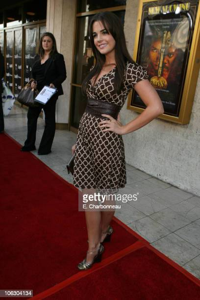 Jillian Murray during Dimension Films presents the World Premiere of '1408' at The National Lindbrook Theatre in Westwood California United States