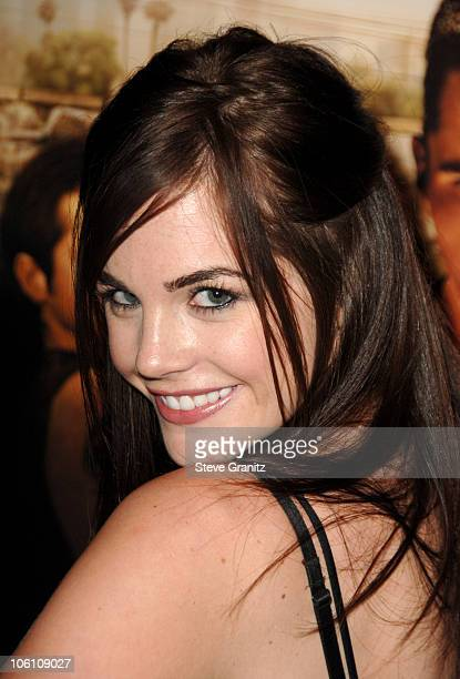 Jillian Murray during 'Harsh Times' Los Angeles Premiere Arrivals at Crest Theater in Westwood California United States
