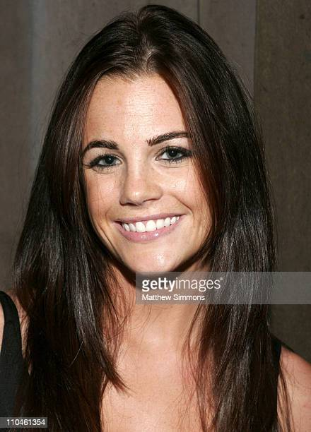 Jillian Murray during KROQ and Ed Hardy Presents the Extreme Rock N'Skate Party at The Viper Room in Hollywood California United States