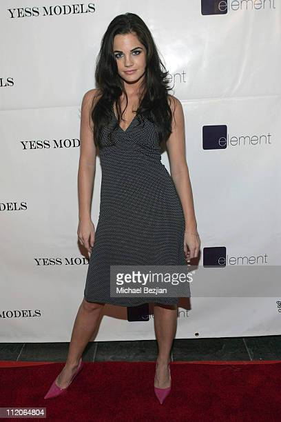 Jillian Murray during Troy Kingdom and Yess Models Party at Element in Hollywood California United States