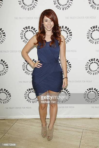 """Jillian Rose Reed arrives at season 2 premiere screening of MTV's comedy series """"Awkward"""" held at The Paley Center for Media on June 21, 2012 in..."""