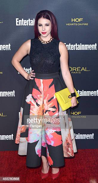 Jillian Rose Reed attends the 2014 Entertainment Weekly PreEmmy Party at Fig Olive Melrose Place on August 23 2014 in West Hollywood California