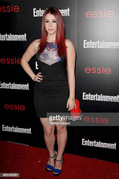 Jillian Rose Reed attends the Entertainment Weekly SAG Awards preparty at Chateau Marmont on January 17 2014 in Los Angeles California