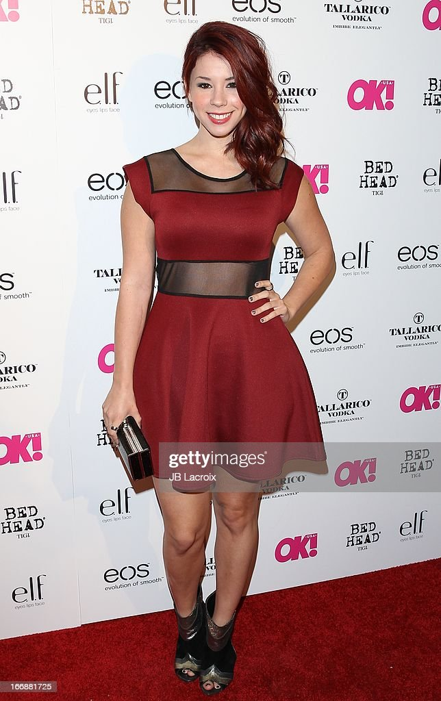 Jillian Rose Reed attends the OK! Magazine's 'So Sexy' party at Mondrian Los Angeles on April 17, 2013 in West Hollywood, California.