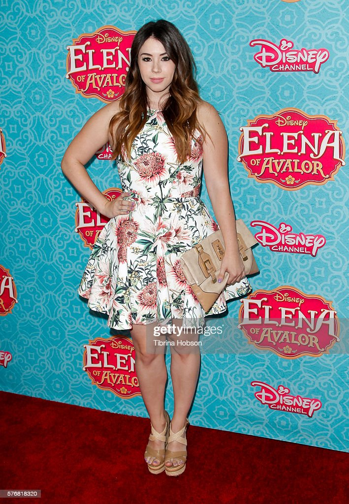 Jillian Rose Reed attends the screening of Disney Channel's 'Elena Of Avalor' at The Paley Center for Media on July 16, 2016 in Beverly Hills, California.