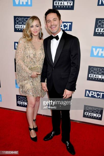 Jillian Sipkins and Justin Willman attend the Critics' Choice Real TV Awards at The Beverly Hilton Hotel on June 02 2019 in Beverly Hills California