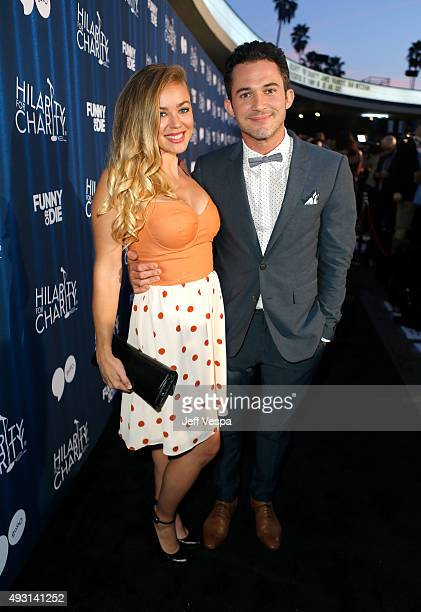 Jillian Sipkins and magician Justin Willman attend Hilarity for Charity's Annual Variety Show James Franco's Bar Mitzvah benefitting the Alzheimer's...