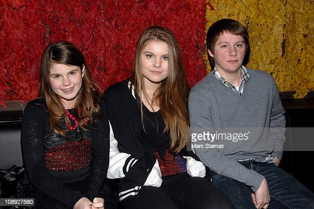 Jillian Staub Christine Staub and Sean Roofe attend Social Launch Party at Greenhouse on February 8 2011 in New York City
