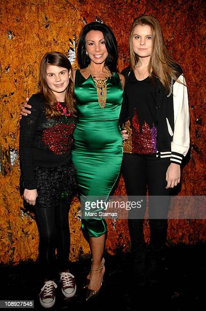 Jillian Staub Danielle Staub and Christine Staub attend Social Launch Party at Greenhouse on February 8 2011 in New York City