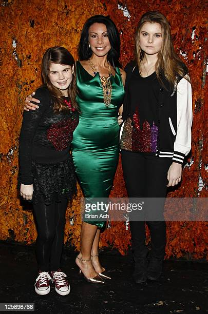 Jillian Staub reality televisoin star Danielle Staub and Christine Staub attend the Social launch party at Greenhouse on February 8 2011 in New York...