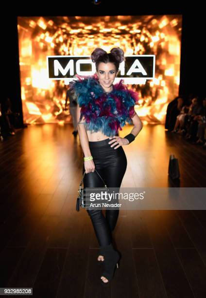 Jillian Wilson at Los Angeles Fashion Week Powered by Art Hearts Fashion LAFW FW/18 10th Season Anniversary Backstage and Front Row Day 5 at The...