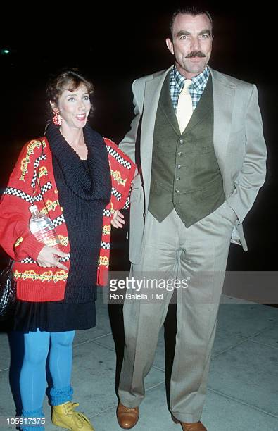 Jillie Mack and Tom Selleck during A Man for All Seasons Los Angeles Screening November 5 1988 at Academy Theatre in Los Angeles California United...
