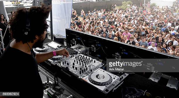 Jillionaire performs onstage during the 2016 Billboard Hot 100 Festival at Nikon at Jones Beach Theater on August 21 2016 in Wantagh New York