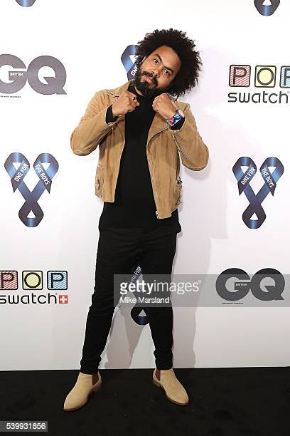 Jillionare attends as GQ and One For The Boys with Swatch host the London Collections Men closing night karaoke at Abbey Road Studios on June 13 2016...