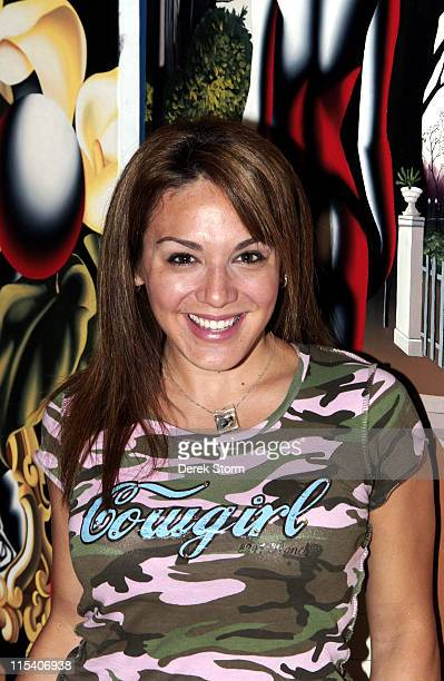 JillMichele Melean during Name That Painting at Kostabi World July 7 2006 at JillMichele Melean Taylor Mead Walter Robinson Ben Curtis o in New York...