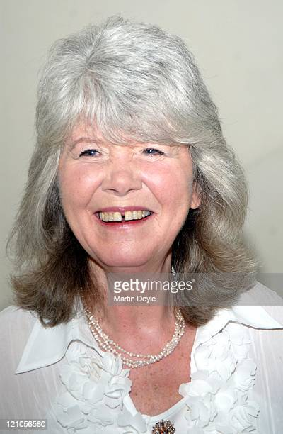 Jilly Cooper during Galaxy British Book Awards 2007 Nominations March 7 2007 in London Great Britain
