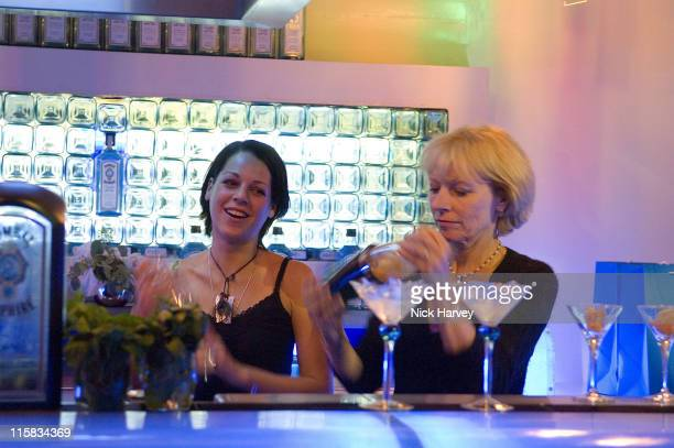 Jilly Goolden and her daughter during Jilly Goolden at Vinopolis for Taping of 'I'm a Celebrity Get Me Out of Here' December 9 2005 at Bombay...