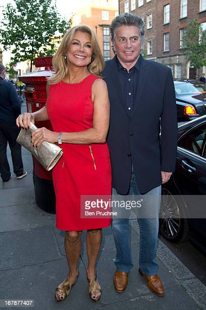 Jilly Johnson and Ashley Brodin sighted at the Human Relations Private View on May 1 2013 in London England