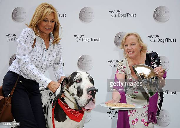 Jilly Johnson and Deborah Meaden attend the 21st Dog Trust Awards at Honourable Artillery Company on May 21 2012 in London England