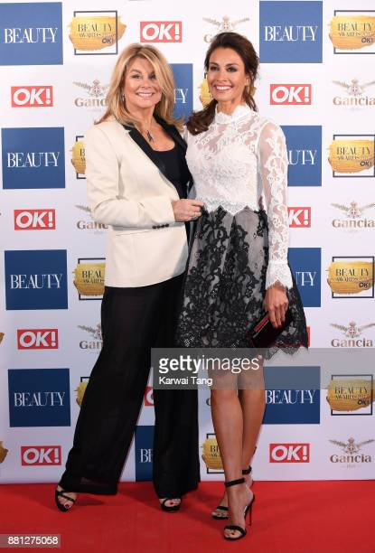 Jilly Johnson and Melanie Sykes attend The Beauty Awards at Tower of London on November 28 2017 in London England