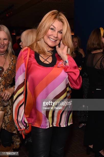 Jilly Johnson and Tessa Blanchard attend the launch of Jo Wood's new book Stoned Photographs Treasures From Life With The Rolling Stones at The...