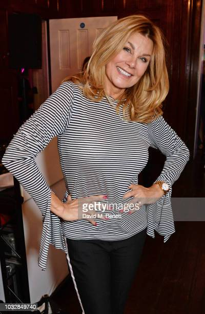 Jilly Johnson attends attends the JDW Midster Live AW18 Catwalk Show and party presented by JD Williams during London Fashion Week September 2018 at...