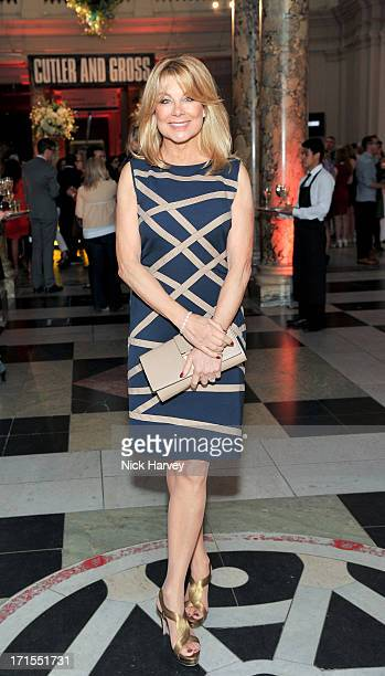 Jilly Johnson attends the 30th anniversary party for Cutler And Gross' design director Marie Wilkinson at Victoria Albert Museum on June 26 2013 in...