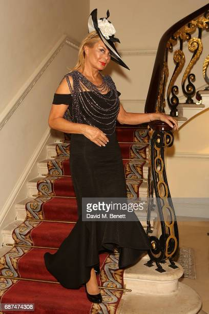 Jilly Johnson attends the Classic Models catwalk show at The Ritz on May 23 2017 in London England
