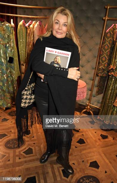 Jilly Johnson attends The Lady Garden Foundation Gucci Breakfast on February 5 2020 in London United Kingdom