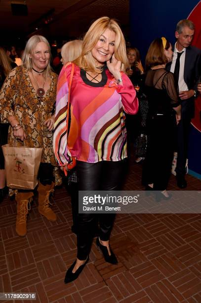 Jilly Johnson attends the launch of Jo Wood's new book Stoned Photographs Treasures From Life With The Rolling Stones at The Standard London on...