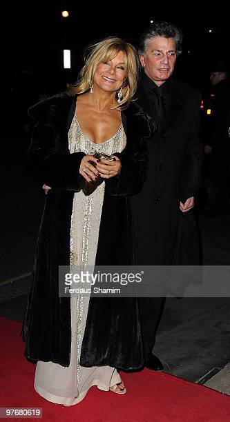 Jilly Johnson attends the Variety Club Dinner and Ball at London Hilton on March 13 2010 in London England