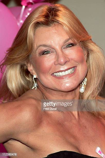 Jilly Johnson during 11th Annual Pink Ribbon Ball at The Dorchester in London Great Britain
