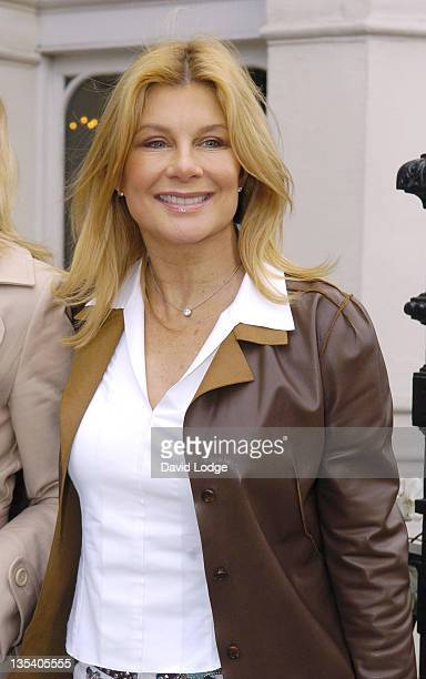 Jilly Johnson during Giles Deacon and Dima Rashid VIP Designer Lunch Outside Arrivals March 27 2006 at Baglioni Hotel in London Great Britain
