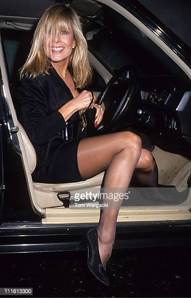 Jilly Johnson during Jilly Johnson at Wedding Reception for Nigel Havers at L'artiste Asouffe in London Great Britain