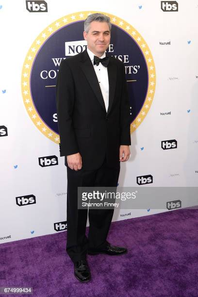 Jim Acosta attends the Not the White House Correspondents' Dinnerat DAR Constitution Hall on April 29 2017 in Washington DC