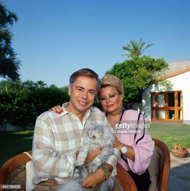 Jim and Tammy Faye Bakker with Their Cat
