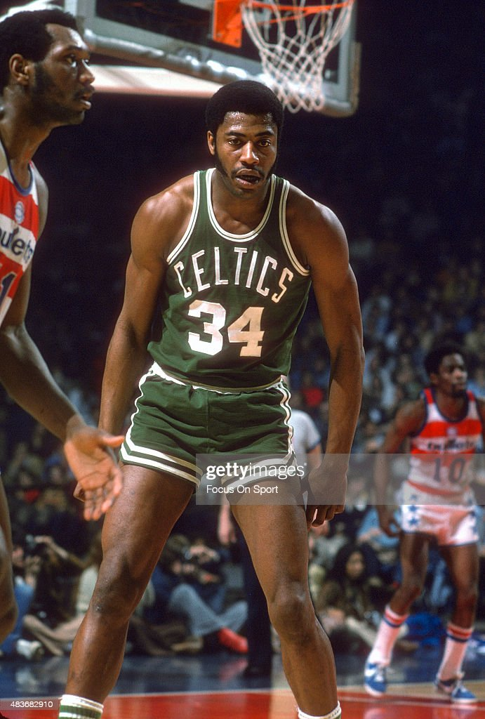 Jim Ard of the Boston Celtics in action against the Washington ...