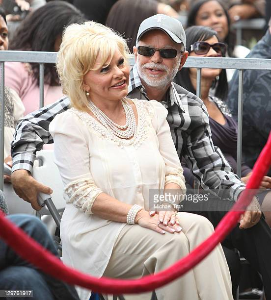 Jim Bakker and Lori Bakker attend the ceremony honoring BeBe and CeCe Winans with a Star on The Hollywood Walk of Fame on October 20 2011 in...