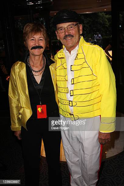 Jim Beach attends the Freddie For A Day 65th birthday anniversary at The Savoy Hotel on September 5 2011 in London United Kingdom