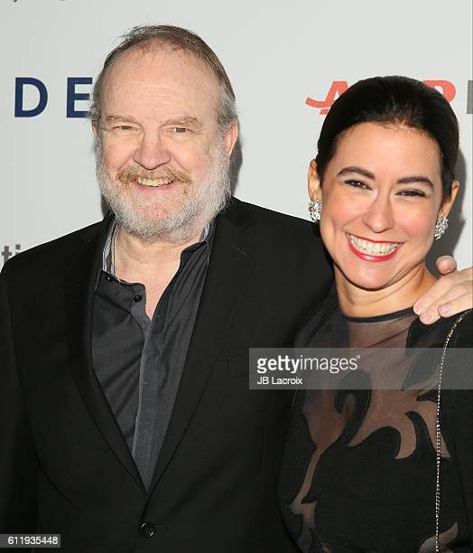 Jim Beaver and Sarah Spiegel attend the MPTF 95th anniversary celebration with 'Hollywood's Night Under The Stars' at MPTF Wasserman Campus on...