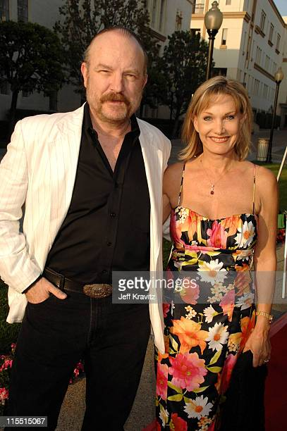 Jim Beaver and sister Denise Beaver during Los Angeles Premiere of the HBO Original Series 'John From Cincinnati' Red Carpet at Paramount Theater in...
