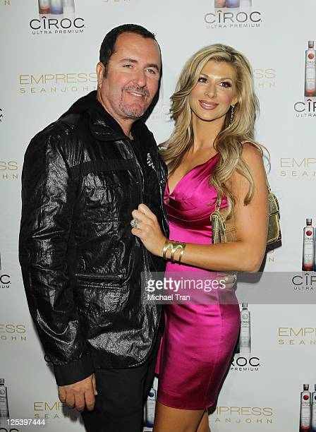 Jim Bellino and Alexis Bellino arrive at the Dancing With The Stars preEmmy party hosted by Empress By Sean John held at Trousdale on September 16...