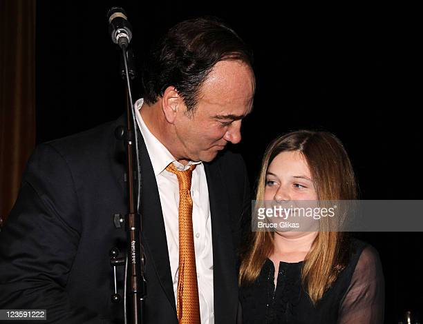 Jim Belushi and daughter Jamison Bess Belushi at The Opening Night After Party for Born Yesterday on Broadway at The Edison Ballroom on April 24 2011...
