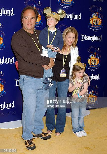Jim Belushi and family during Disneyland 50th Anniversary Happiest Homecoming On Earth Celebration at Disneyland in Anaheim California United States