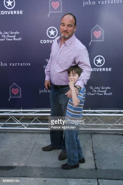Jim Belushi and Jared James Belushi attend BRING YOUR HEART TO OUR HOUSE JOHN VARVATOS partners with CONVERSE for the 7th ANNUAL STUART HOUSE BENEFIT...