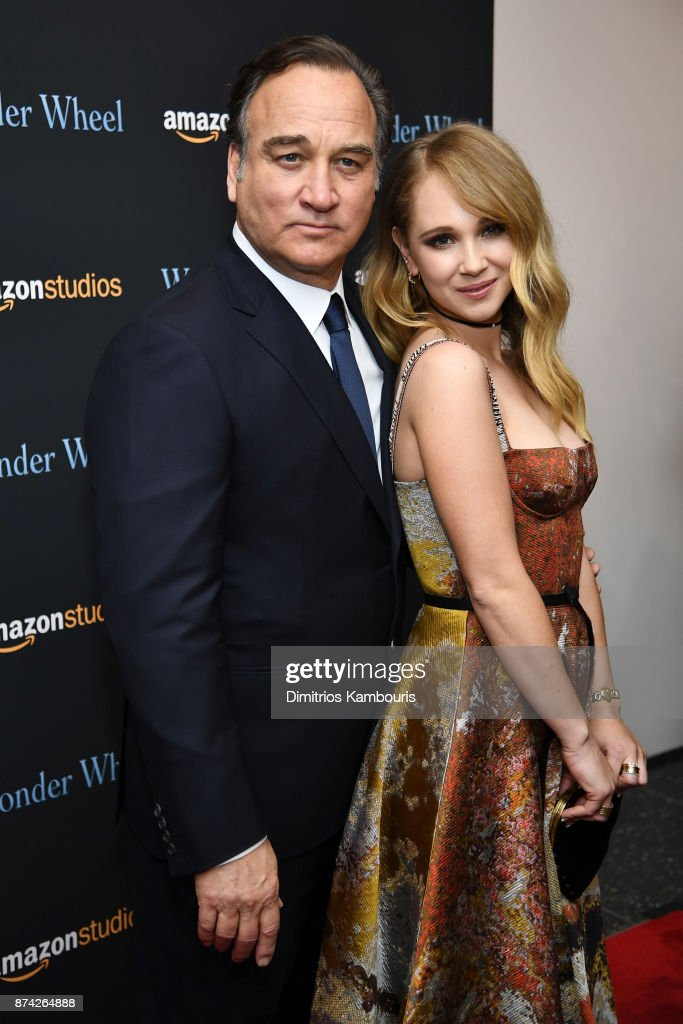 Jim Belushi and Juno Temple attend the 'Wonder Wheel' screening at Museum of Modern Art on November 14, 2017 in New York City.