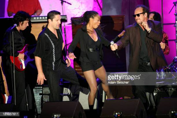 Jim Belushi and The Sacred Heart Band during 2007 Starkey Gala at St Paul Rivercentre in St Paul Minnesota United States