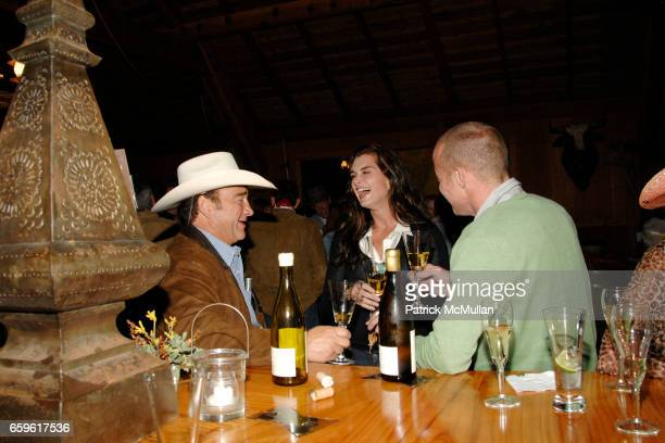Jim Belushi Brooke Shields and Greg Brewer attend HEARST CASTLE PRESERVATION FOUNDATION COWBOY BOOTS DINNER at Hearst Ranch Dairy Barn on October 3...